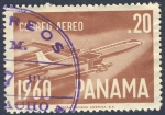 Sellos de America - Panamá -   Avion