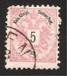 Stamps : Europe : Austria :  corona real