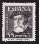 Sellos del Mundo : Europa : España : Hernan Cortes