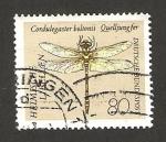 Stamps Germany -  1379 - libélula, cordulegaster boltonii