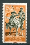 sellos de Europa - España -  Don Quijote y Sancho Panza