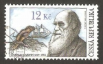 Stamps Europe - Czech Republic -  charles darwin
