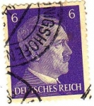 Stamps Germany -  HITLER