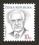 Stamps : Europe : Czech_Republic :  503 - Vaclav Klaus, presidente de la república