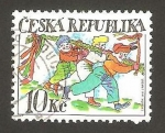Sellos de Europa - República Checa -  juegos infantiles
