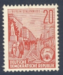 Stamps Europe - Germany -  DDR Berlin Stalinallee