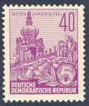 Stamps Europe - Germany -  DDR Dresden Zwinger Aufbau