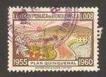 Sellos de America - Honduras -  plan quinquenal, paisaje