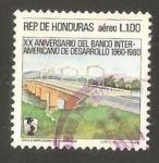 Stamps Honduras -  vista puente sobre rio comayagua