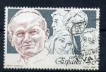 Stamps Spain -  papa y juventud