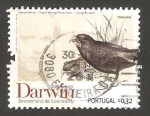 Stamps Portugal -  charles darwin, tentilhoes