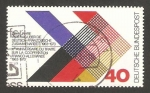 Stamps Germany -  X anivº del tratado de cooperacion franco aleman
