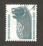 Stamps Germany -  1280 - El León de Brumswick