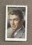 Stamps United States -  James Stewart, artista cine