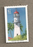 Stamps United States -  Faro Diamond Head
