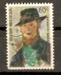 Stamps Belgium -  RIK  WOUTERS