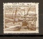 Sellos de America - Chile -  BOTES  PESQUEROS