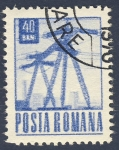 Stamps Romania -  torres electricas