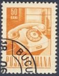 Stamps Romania -  telefono
