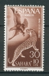 Stamps Spain -  Aguila real y Leopardo
