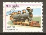 Stamps Nicaragua -  VAPORCITO  93