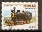 Sellos de America - Nicaragua -  PHILADELPHIA  IRON  WORK  1911