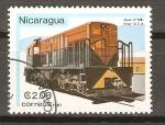 Stamps Nicaragua -  MODELO  U-108   1956