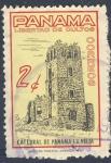 Sellos del Mundo : America : Panamá : Libertad de cultos  Catedral de Panama la Vieja