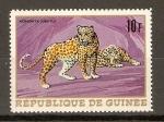 Sellos de Africa - Guinea -  LEOPARDO
