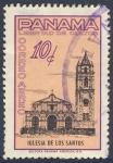 Stamps Panama -  Libertad de cultos  Iglesia de los Santos