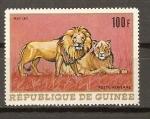 Sellos de Africa - Guinea -  LEÓN