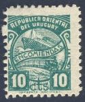 Sellos de America - Uruguay -  Encomiendas