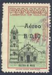 Stamps America - Panama -  Libertad de cultos  Iglesia de Nata