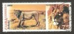 Sellos de America - Cuba -  leones
