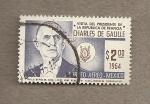 Sellos de America - México -  visita de Charles de Gaulle a Méjico