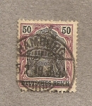 Stamps Germany -  Alegoría Alemania