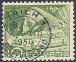 Stamps Switzerland -  tren cremallera