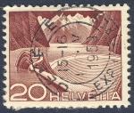 Stamps Switzerland -  presa