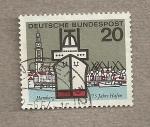 Sellos de Europa - Alemania -  775 años del puerto de Hamburgo
