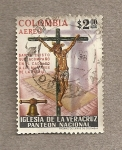 Sellos de America - Colombia -  Iglesia de la Veracruz