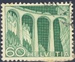 Sellos de Europa - Suiza -  puente