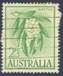 Stamps Australia -  Wattle