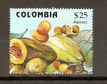 Stamps Colombia -  FRUTAS