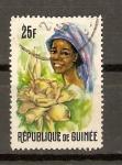 Stamps Guinea -  MUJER  DE  GUINEA