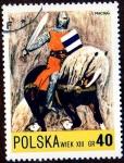 Stamps Poland -  WIEK XIII