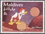 Sellos de Asia - Maldivas -  MALDIVES 1992 Scott 2052 Sello Nuevo Escenas de Donald and the Wheel 1961 4L