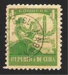 Sellos del Mundo : America : Cuba : 257 - Fumador indígena