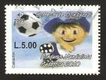 Sellos del Mundo : America : Honduras :  1340 - Honduras, Mundialista en Sudáfrica 2010