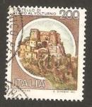 Stamps : Europe : Italy :  1445 - Castillo De Cerro al Volturno