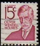 Stamps United States -  USA 1968 Michel 944 Sello Serie Personajes Oliver Wendell Holmes usado